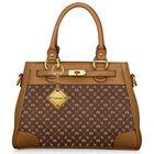personalised initials brown handbag UK IPB a main