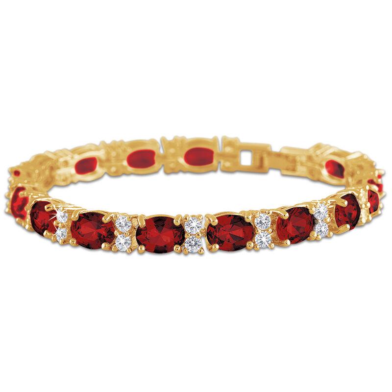 birthstone tennis bracelet UK BDTB2 h eight