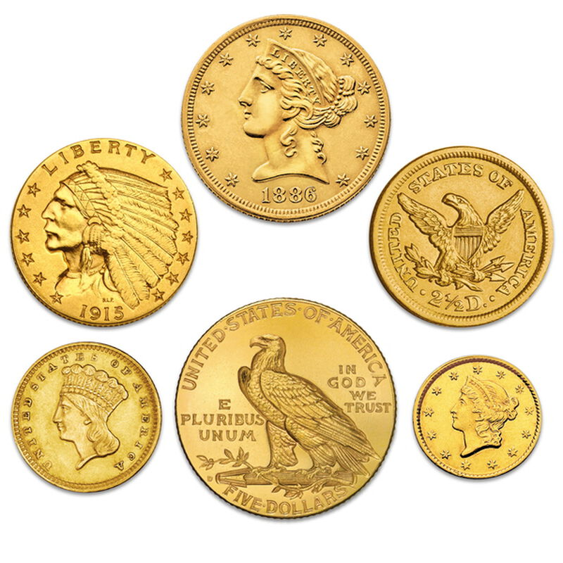 historic u s gold coins UK HUSGC b two