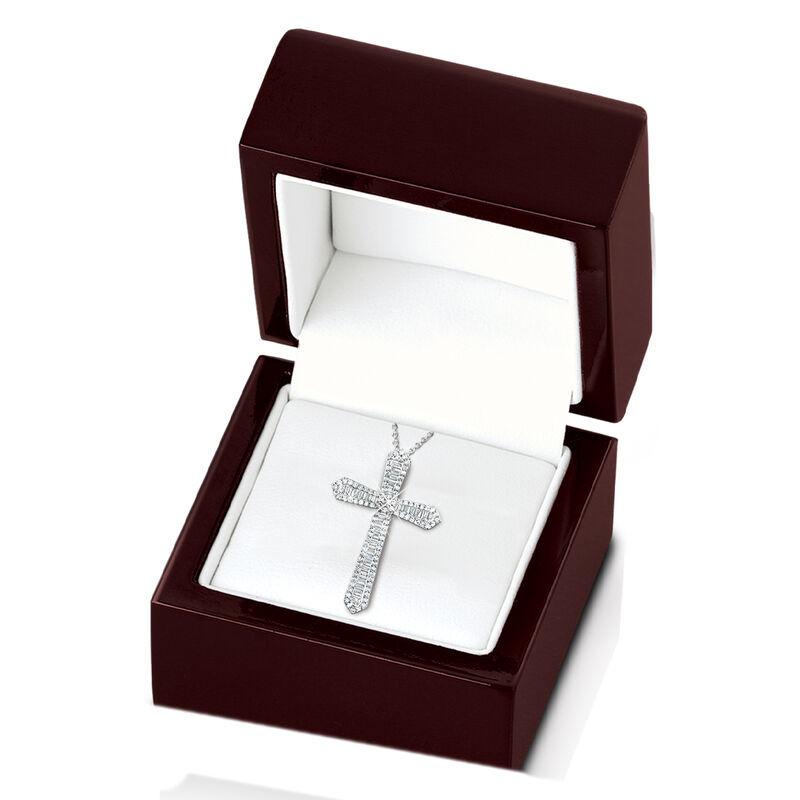 diamond devotion cross pendant UK DDCP b two