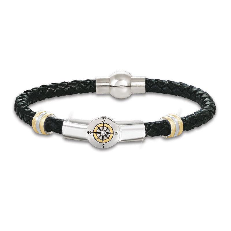grandson leather bracelet UK CBFMG3 a main