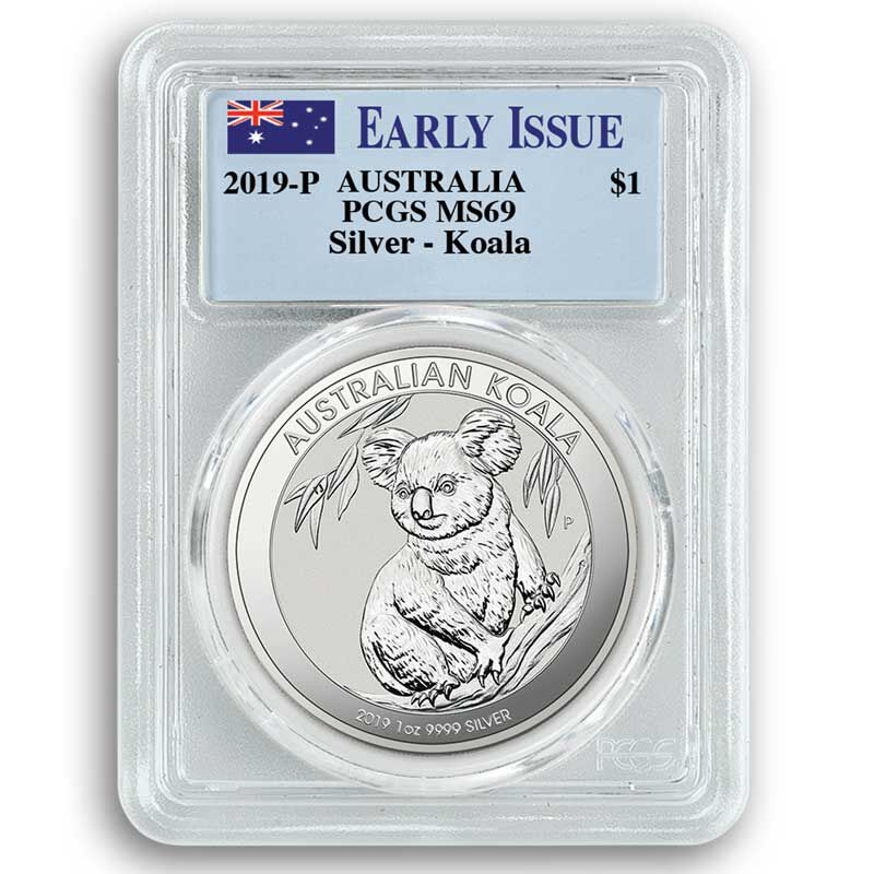 the 2019 early issue australian silver d UK A19D e five