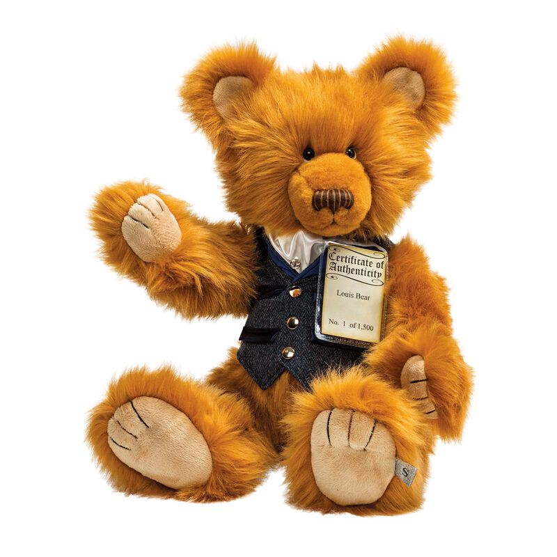 silver tag bear louis UK STBLS a main