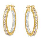 diamond crystal earrings UK DDSHE a main