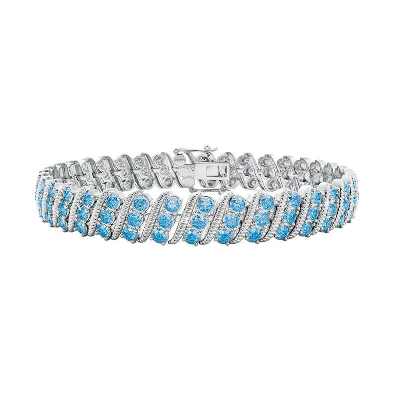 bold beautiful birthstone bracelet UK BSBBB l twelve