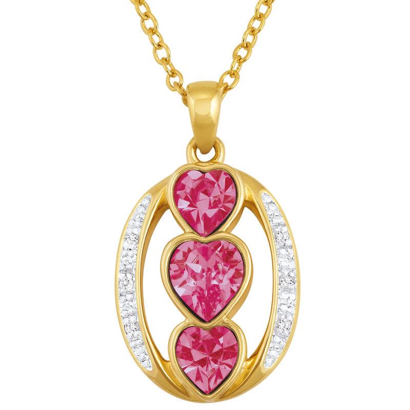 i love you birthstone pendant UK ILYBP2 j ten