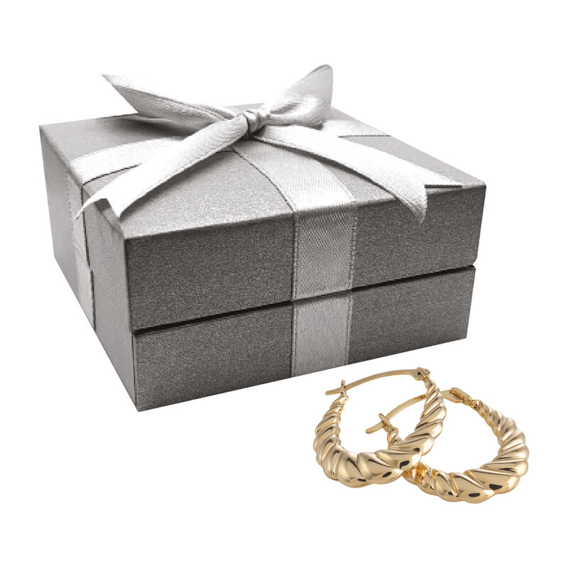 The Essential Gold Earring Set 6315 0015 g gift box