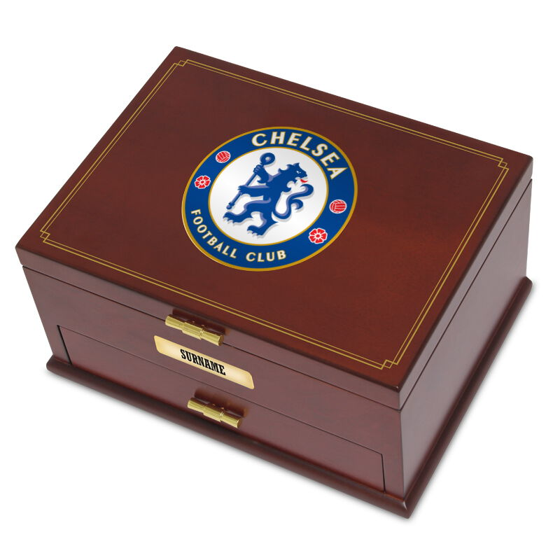 personalised chelsea fc valet box UK CHVB a main