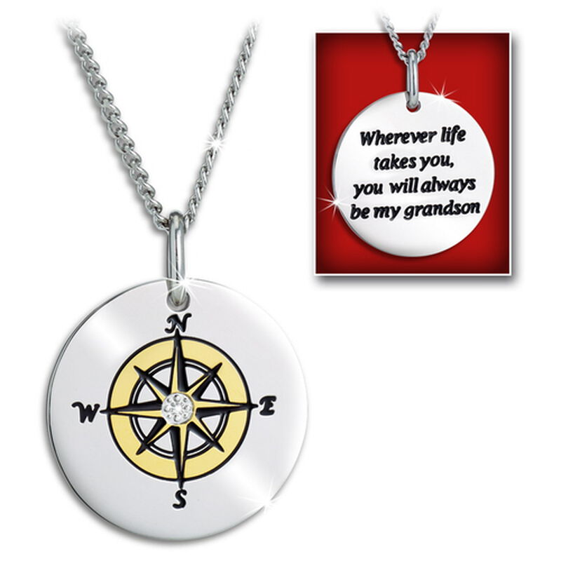 for my grandson compass pendant UK CPFMG3 a main
