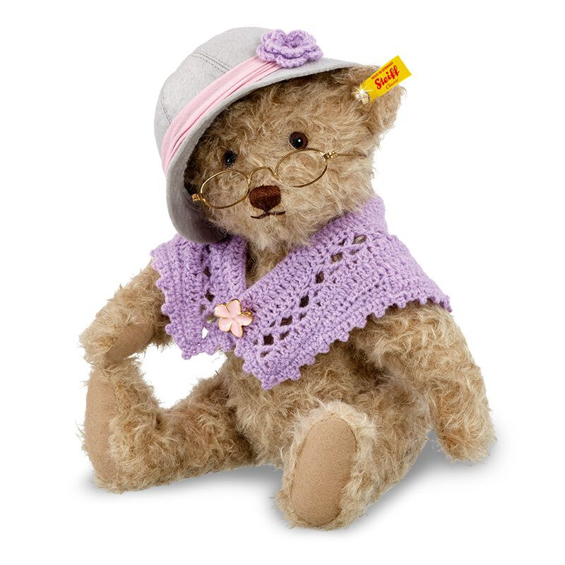 steiff grandma bear UK SGRMB b two