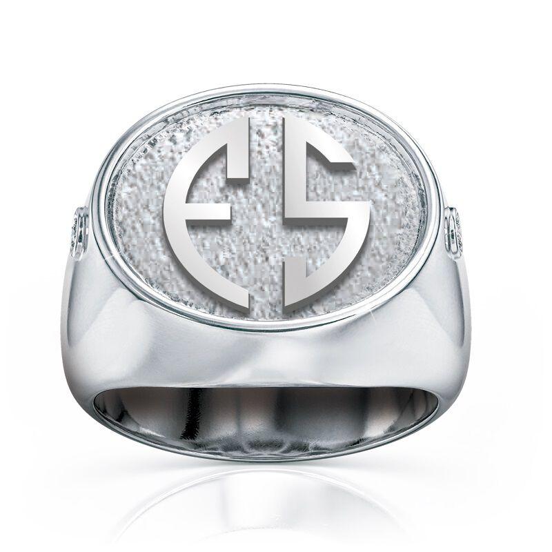 mens diamond signet ring UK MSIGR a main