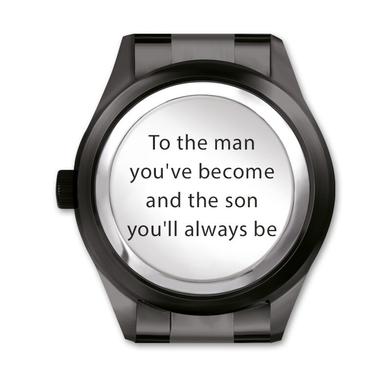son black ice watch UK SBIW b two