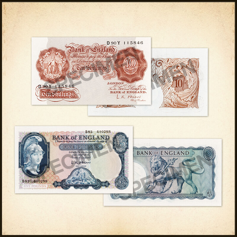 the bank of england collection UK BNC a main