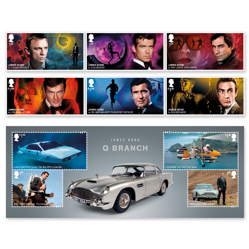 the ultimate james bond collection UK BOND c three
