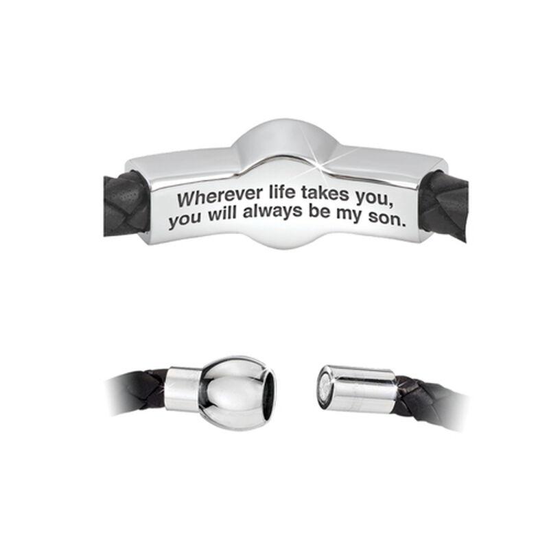 son leather bracelet UK CBFMS3 b two