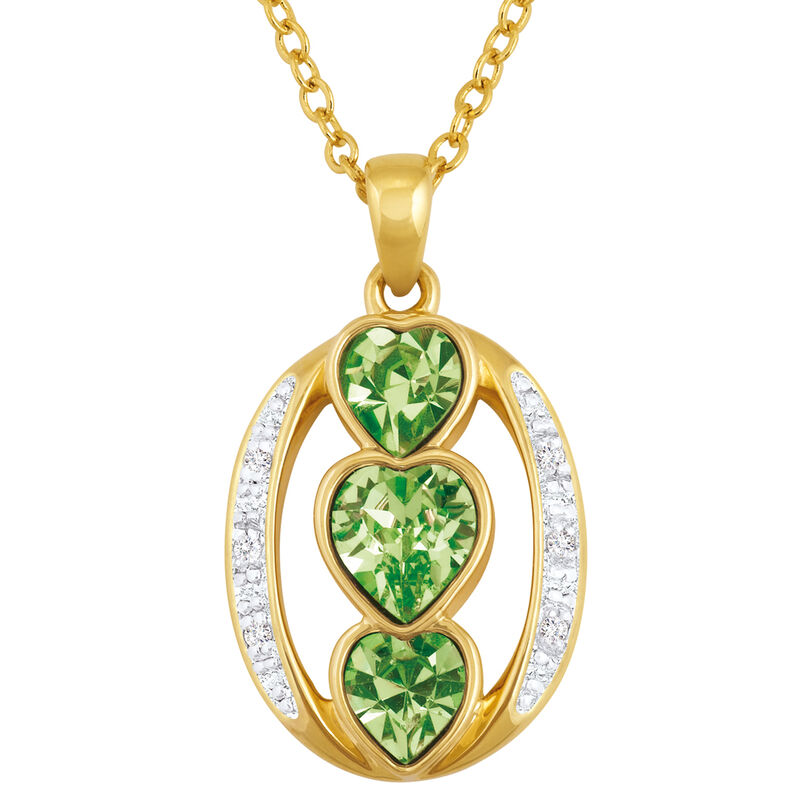 i love you birthstone pendant UK ILYBP2 h eight