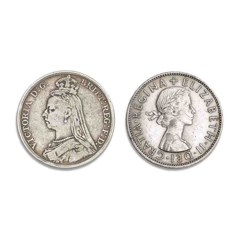the longest reigning monarchs coin colle UK LRDS a main