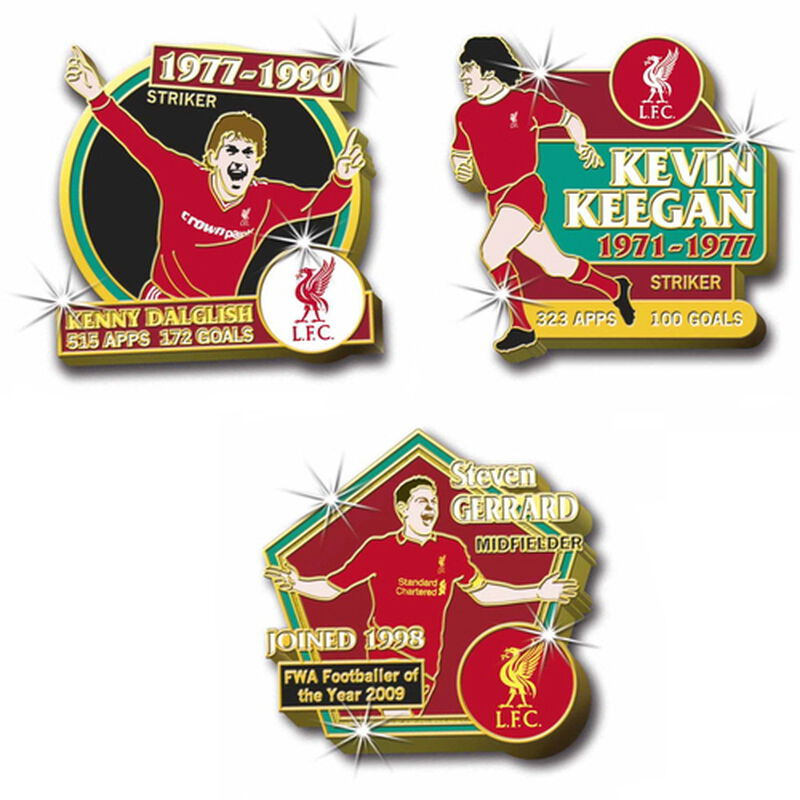 liverpool fc heroes pin collection UK LIPLP a main