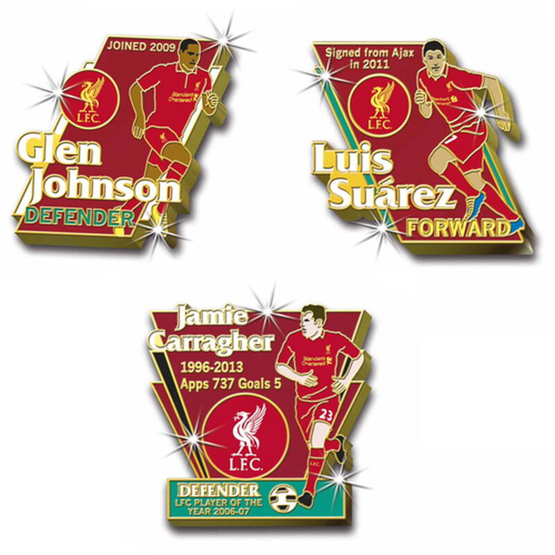 liverpool fc heroes pin collection UK LIPLP b two