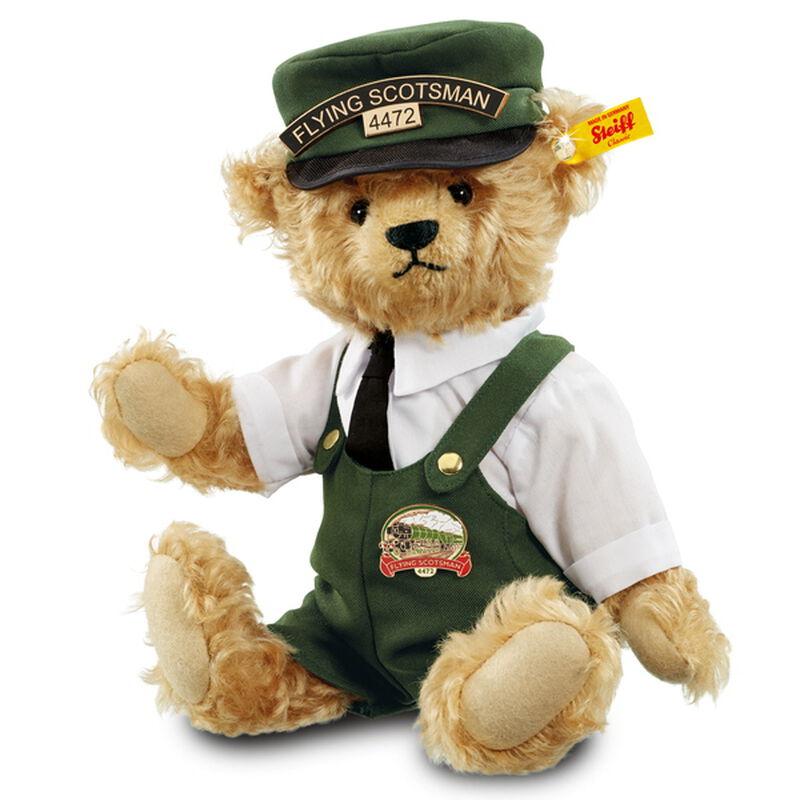 bill the flying scotsman bear by steiff UK SFSMB2 a main
