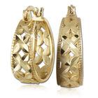 golden kisses earrings with free pendant UK EPS a main