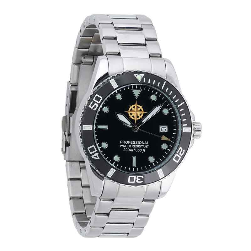 son personalised adventurer watch UK SPAW a main