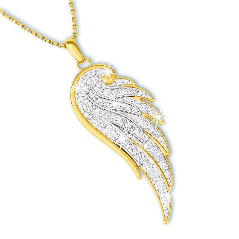 my angel daughter diamond pendant UK ADDP a main