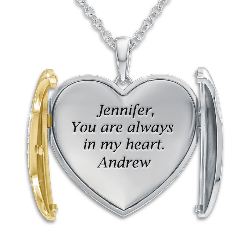 you are always in my heart pendant UK YAMHP2 b two