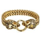 lions roar mens steel and copper bracele UK LIONG2 a main