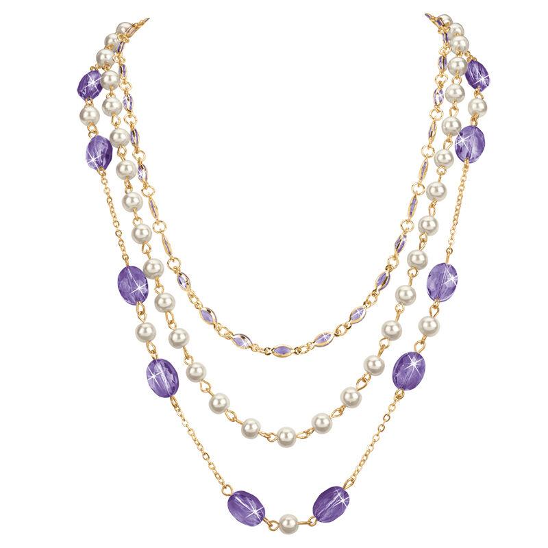 birthstone elegance necklace UK BENS e five