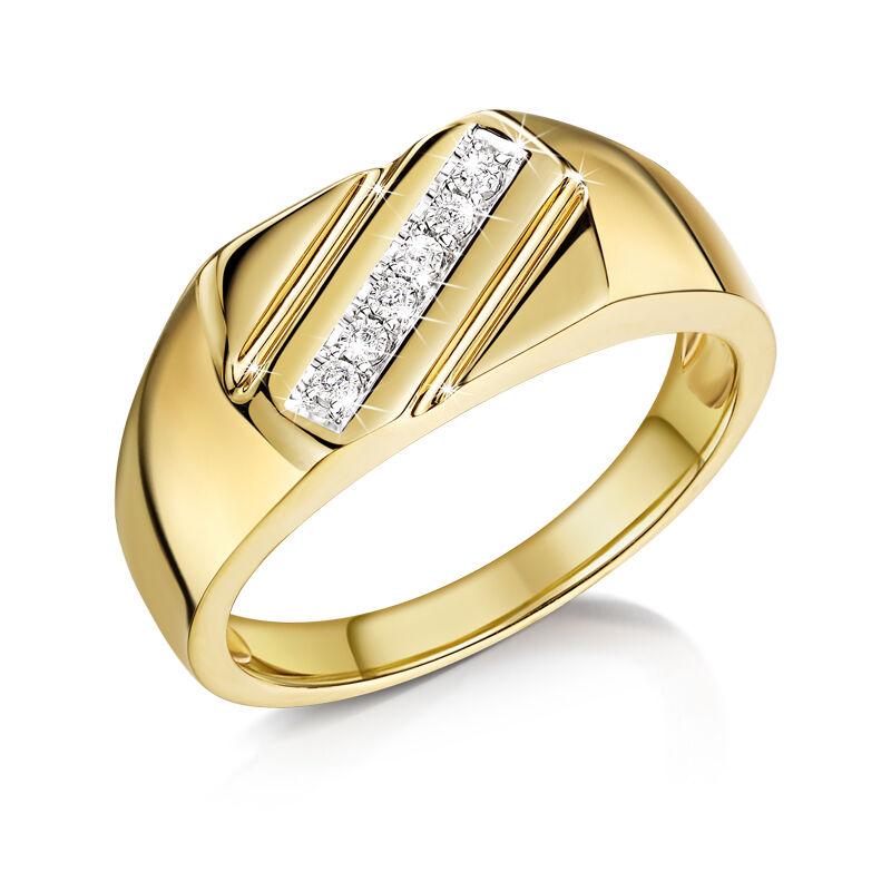 mens diamond striker ring UK MDSR a main