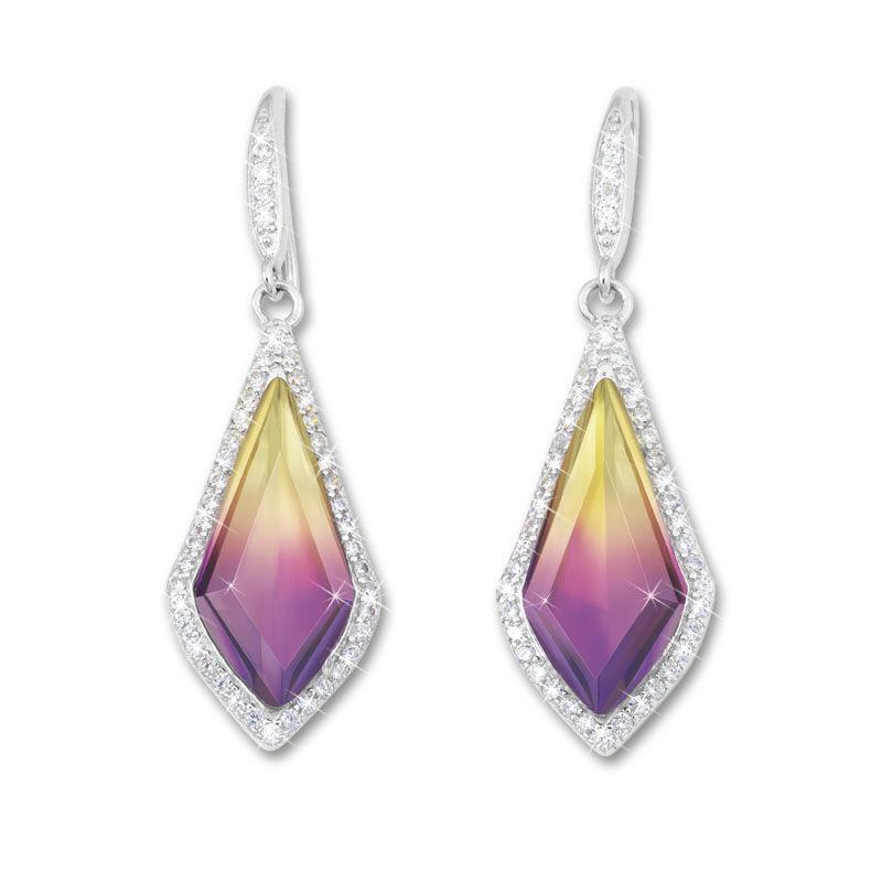 sunset splendour pendant and earrings se UK SSPES b two