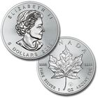 the 2018 early issue silver maple leaf UK C18B a main