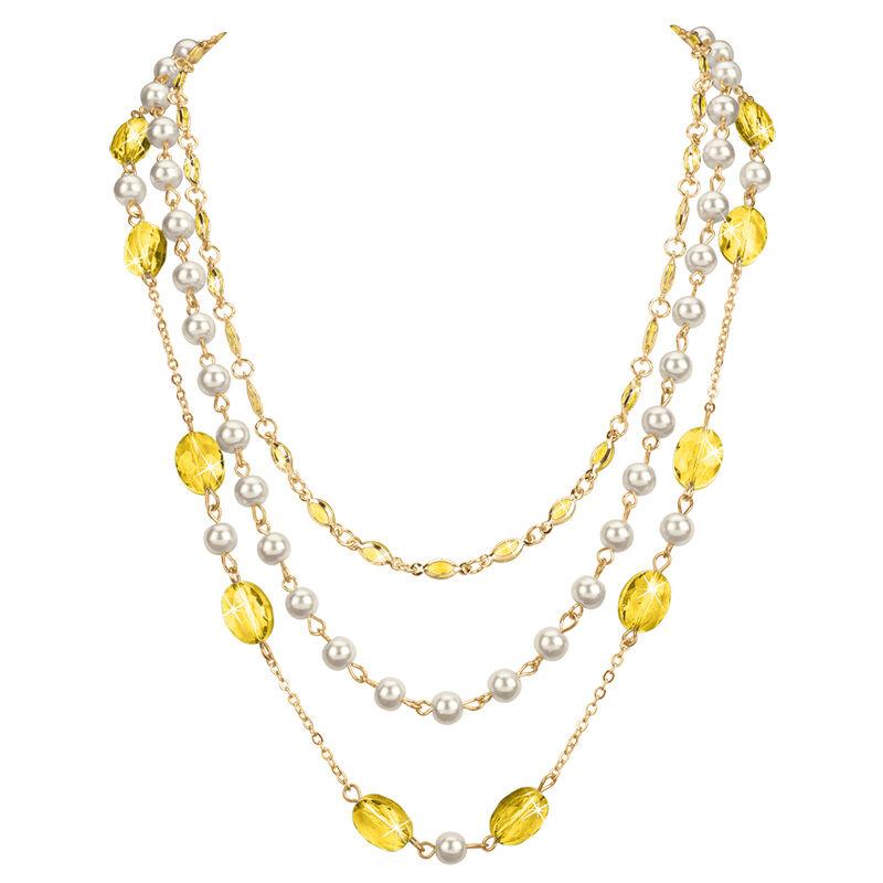 birthstone elegance necklace UK BENS n fourteen