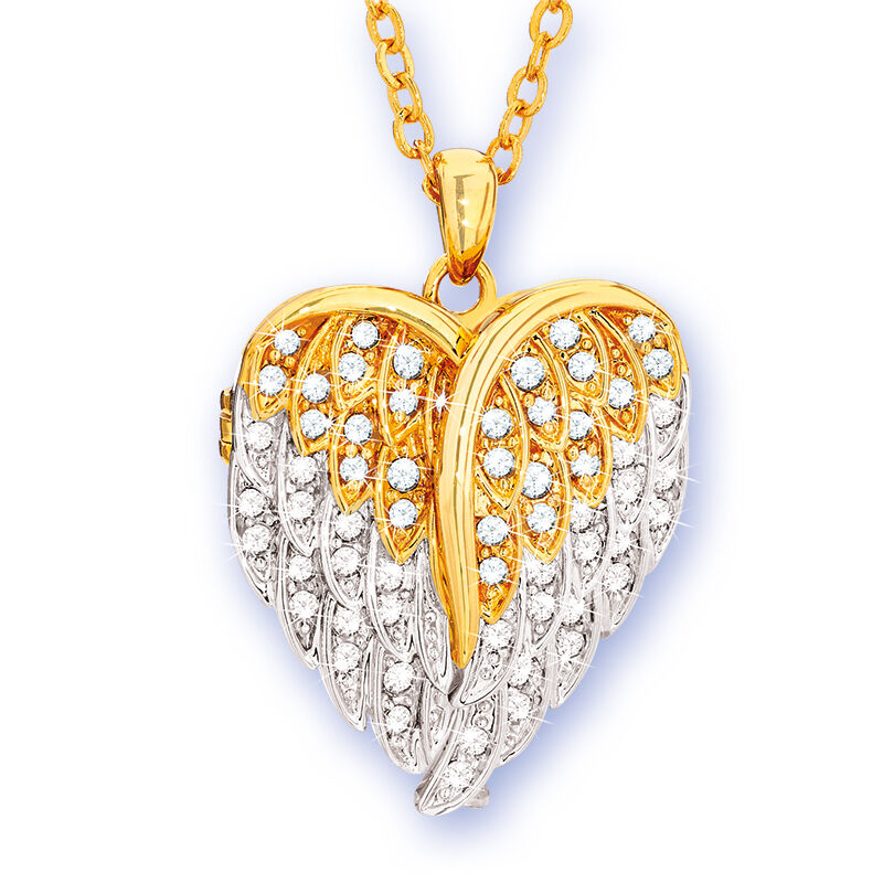 in the arms of the angels locket UK AAL a main