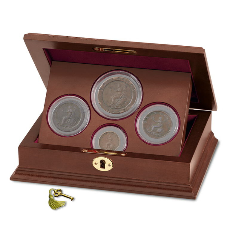 the george iii copper coin collection UK GCCC d four