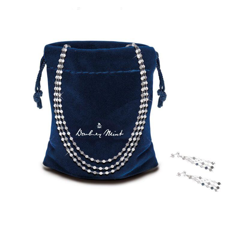 il fascino italian silver necklace earri UK ISSNES b two