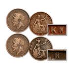 the george v penny mintmarks UK PMMC b two