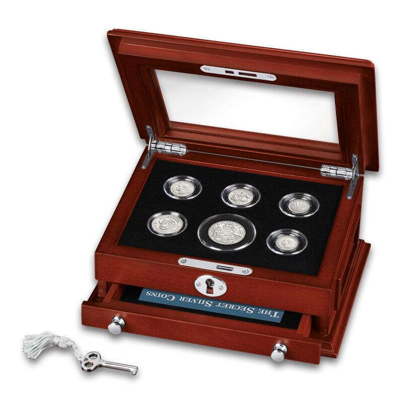 the secret silver coins of the u s mint UK FUS f six