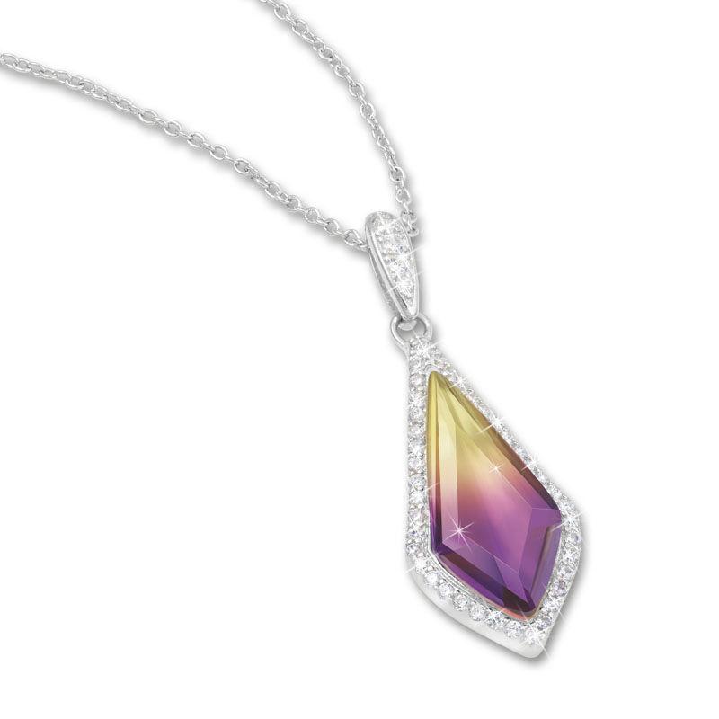 sunset splendour pendant and earrings se UK SSPES a main