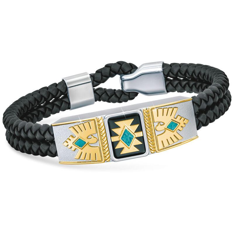 son southwest leather bracelet UK SSWB a main