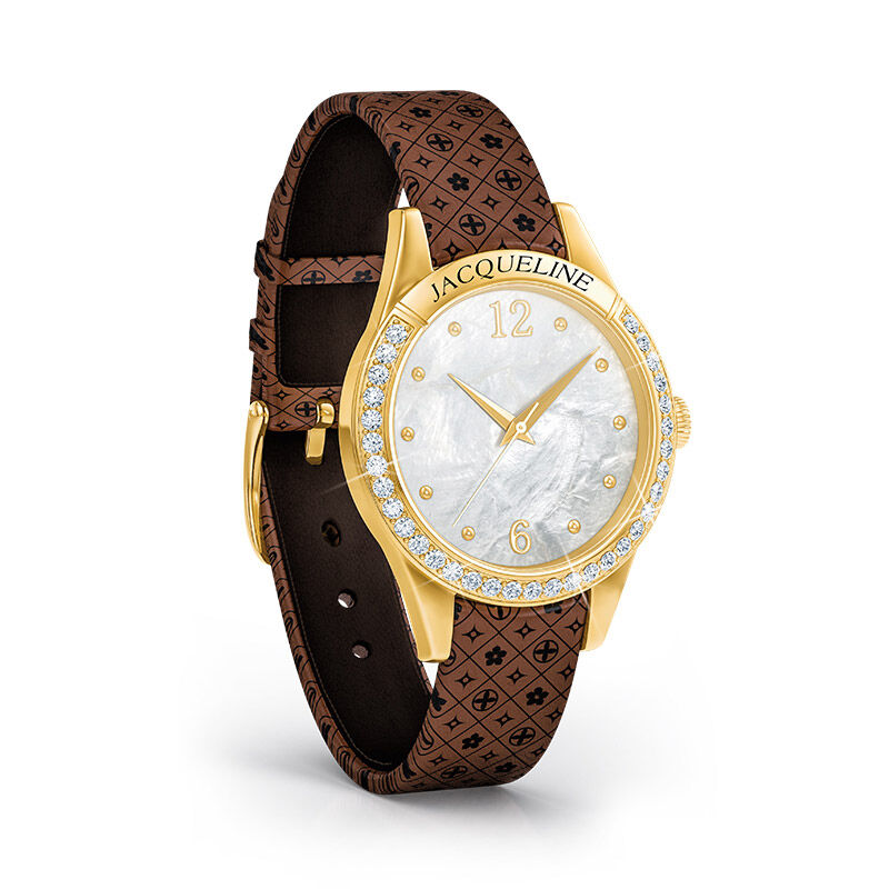 personalised daughter watch with card UK PDWC a main