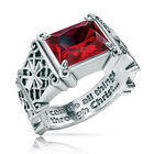 i can do all things birthstone ring UK ICDBR a main
