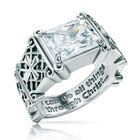 i can do all things birthstone ring UK ICDBR d four