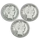 the complete barber silver half dollar c UK BHA a main