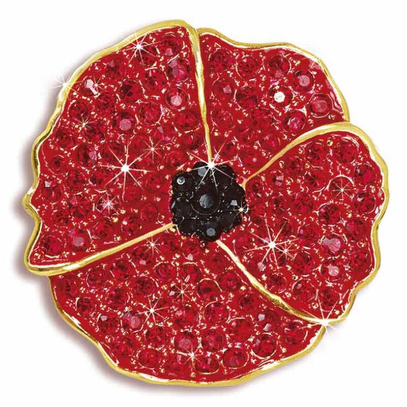 the poppy brooch UK CRPBR a main