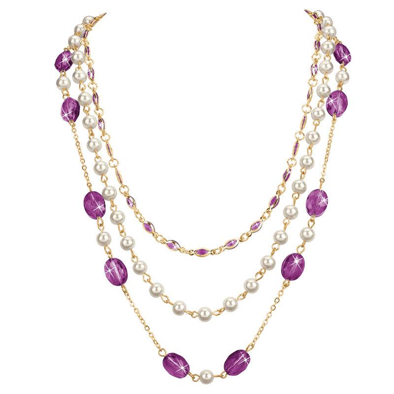 birthstone elegance necklace UK BENS i nine