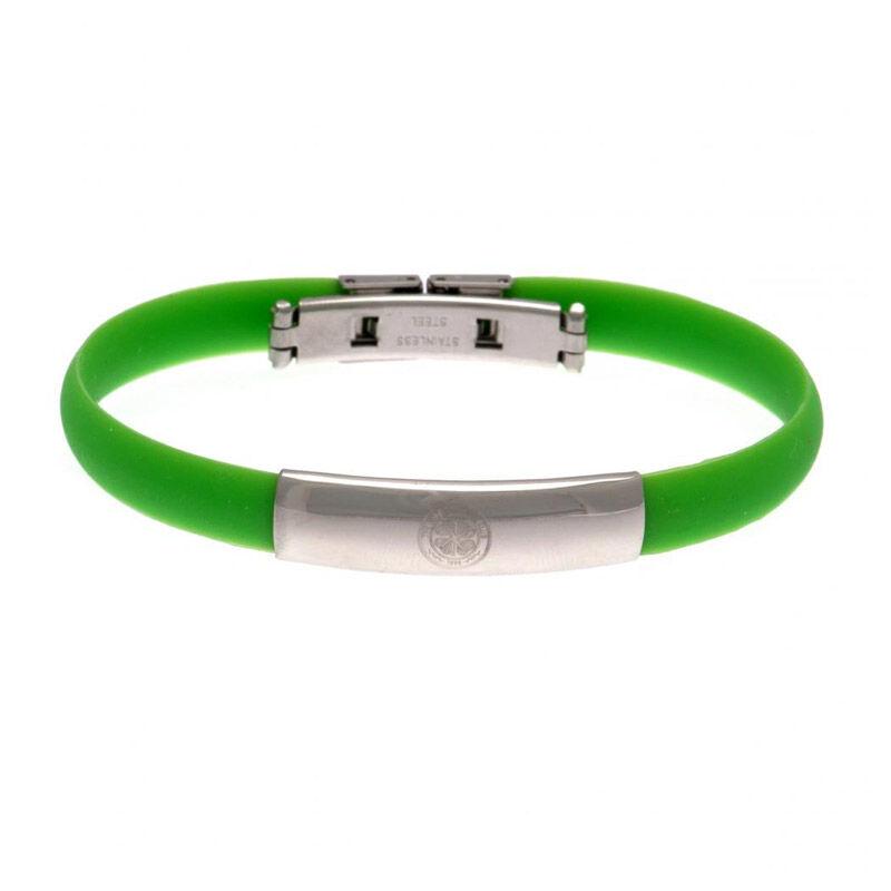 the celtic fc silicone bracelet UK CESBR a main