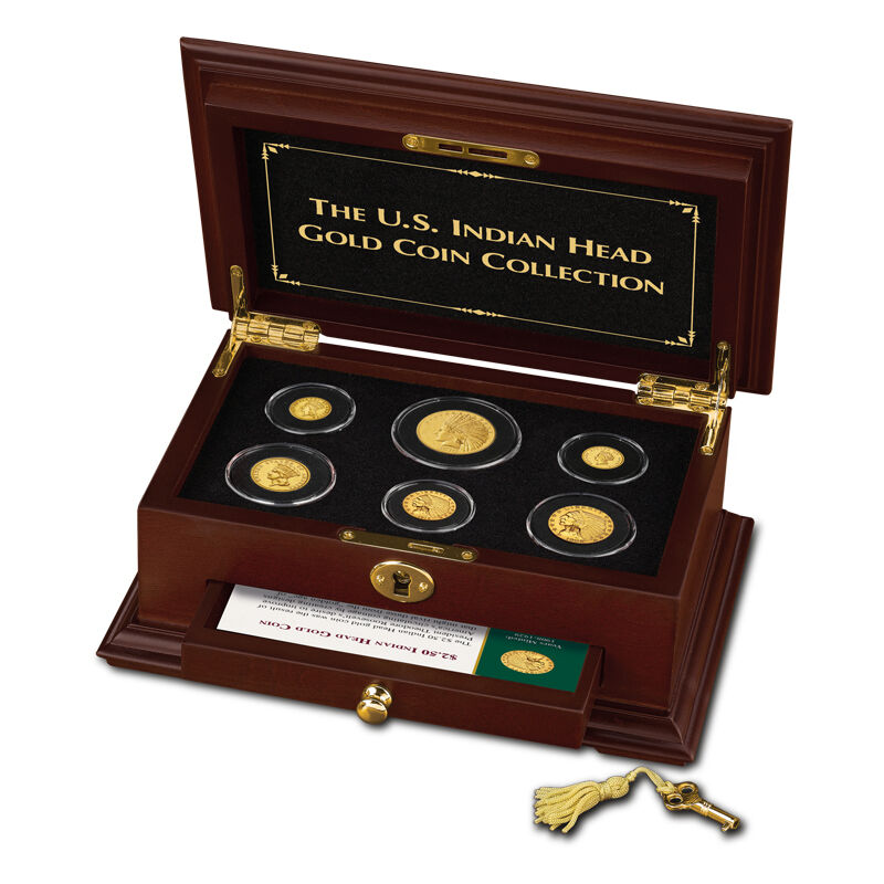 the u s indian head gold coin collection UK GHI a main