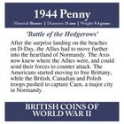 british coins of world war ii UK WW2CR e five